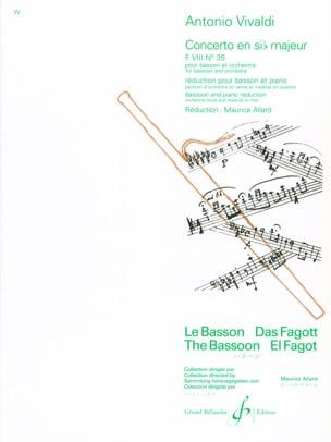 Concerto F. 8 n° 35 en sib majeur VIVALDI Partition laflutedepan