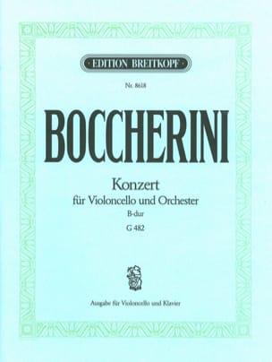 Concerto Violoncelle, si bémol majeur BOCCHERINI laflutedepan