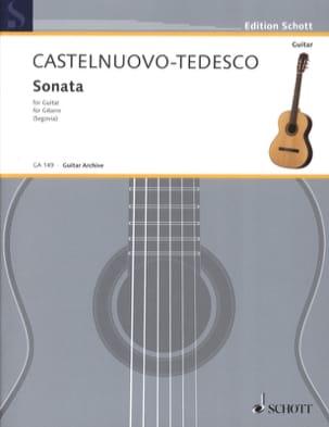 Sonata Mario Castelnuovo-Tedesco Partition Guitare - laflutedepan