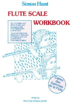 Simon Hunt - Flute Scale Workbook - Partition - di-arezzo.com