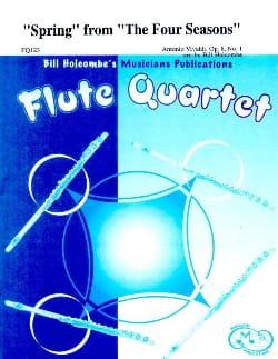 Spring from The Four Seasons - Flute quartet VIVALDI laflutedepan