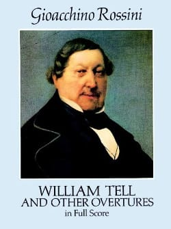 William Tell And Other Overtures - Full Score ROSSINI laflutedepan