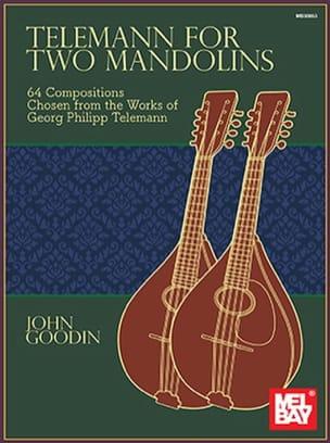 Telemann for 2 Mandolins TELEMANN Partition Mandoline - laflutedepan
