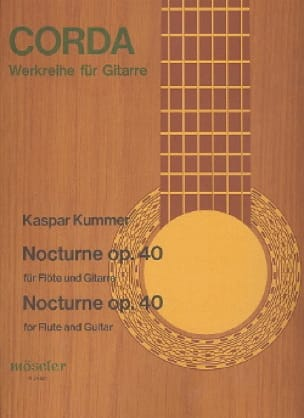 Nocturne - Gaspard Kummer - Partition - Duos - laflutedepan.com