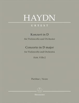 Violoncello-Konzert D-Dur Hob 7b:2 - Partitur HAYDN laflutedepan