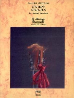 Studies Mauro Giuliani Partition Guitare - laflutedepan