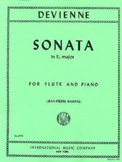 Sonata in E flat major - Flute piano François Devienne laflutedepan