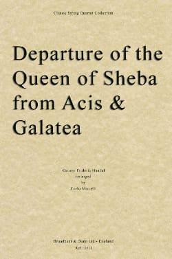 Departure of the Queen of Sheba - String quartet HAENDEL laflutedepan