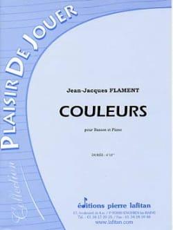 Couleurs - Basson - Jean-Jacques Flament - laflutedepan.com