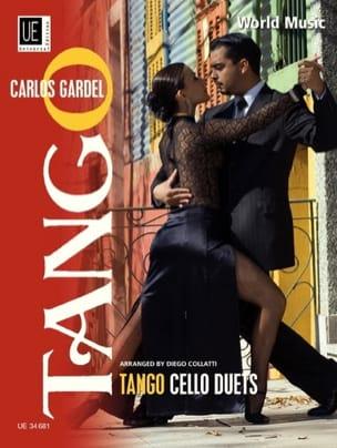 Tango Cello Duets Carlos Gardel Partition Violoncelle - laflutedepan
