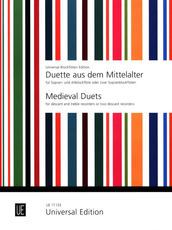 Duette aus dem Mittelalter - Sopran- und Altblockflöte - laflutedepan.com