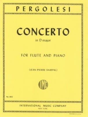Concerto in D major - Flute piano - PERGOLESE - laflutedepan.com