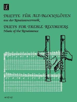 Duette für Alt-blockflöten - Renaissancemusik laflutedepan