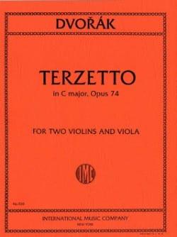 Terzetto C major op. 74 -2 Violins viola - Parts DVORAK laflutedepan