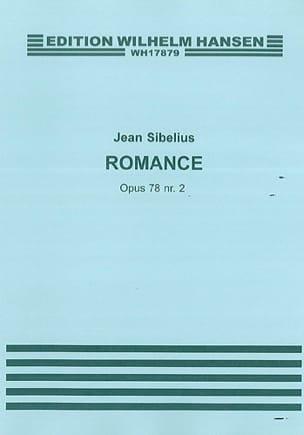 Romance op. 78 n° 2 - SIBELIUS - Partition - Violon - laflutedepan.com