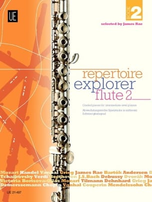 Repertoire Explorer Flute Book 2 - Partition - laflutedepan.com