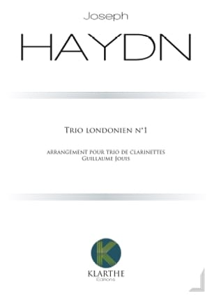 Trio n° 1 - 3 Clarinettes HAYDN Partition Clarinette - laflutedepan