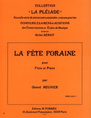 La fête foraine - Gérard Meunier - Partition - laflutedepan.com