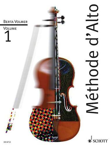 Méthode d'Alto Volume 1 - Berta Volmer - Partition - laflutedepan.com
