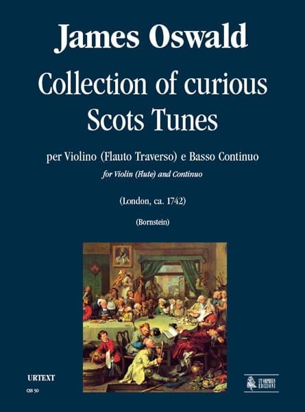 Collection of curious Scots tunes - James Oswald - laflutedepan.com
