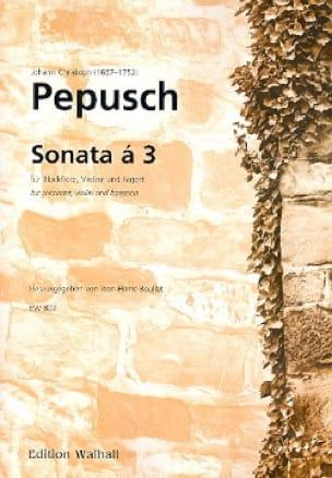 Sonate A 3 - Johann Christoph Pepusch - Partition - laflutedepan.com