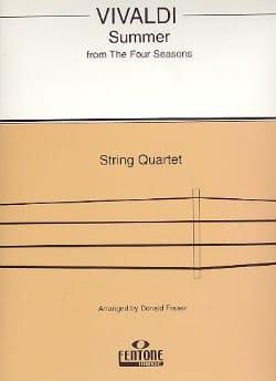 Summer from The four seasons - String Quartet VIVALDI laflutedepan