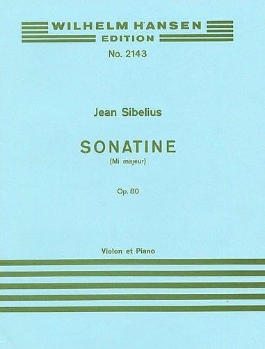 Sonatine en Mi majeur op. 80 - SIBELIUS - Partition - laflutedepan.com