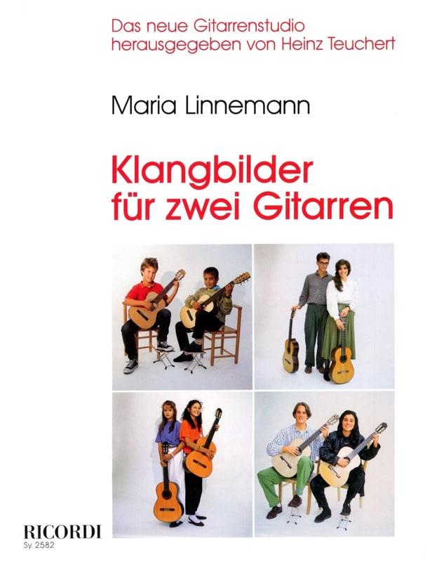 Klangbilder für 2 Gitarren - Maria Linnemann - laflutedepan.com