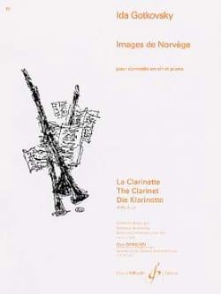 Images de Norvège Ida Gotkovsky Partition Clarinette - laflutedepan