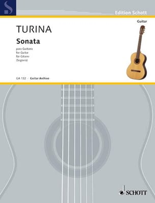 Sonata para Guitarra TURINA Partition Guitare - laflutedepan