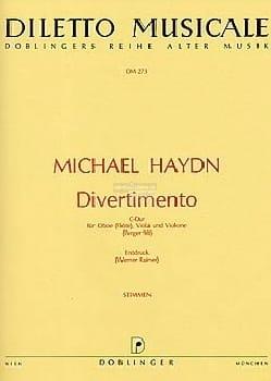 Divertimento C-Dur - Oboe Flöte Viola Violone laflutedepan