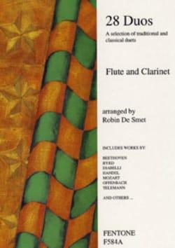 28 Duos - Flute clarinet Partition Duos - laflutedepan