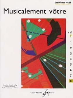 Musicalement Vôtre Volume 8 Jean-Clément Jollet Partition laflutedepan