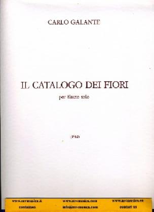 Il Catalogo dei fiori - Carlo Galante - Partition - laflutedepan.com