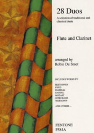 28 Duos - Flute clarinet - Partition - Duos - laflutedepan.com