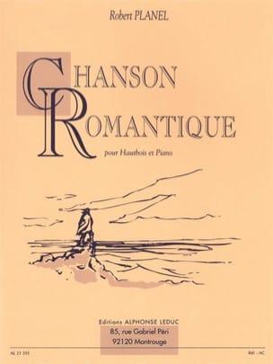 Chanson romantique Robert Planel Partition Hautbois - laflutedepan
