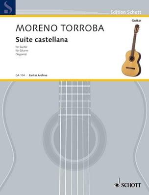 Suite castellana Federico Moreno-Torroba Partition laflutedepan
