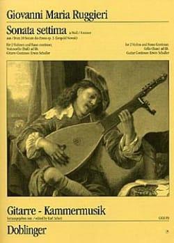 Sonata settima a-moll op. 3 - 2 Violinen u. Bc - laflutedepan.com