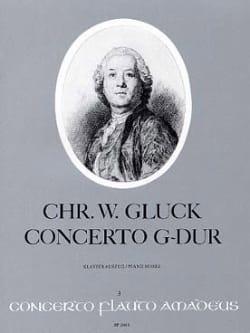 Concerto G-Dur Sol M. - Flûte et Piano GLUCK Partition laflutedepan