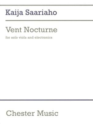 Vent nocturne -Solo Viola and electronics Kaija Saariaho laflutedepan