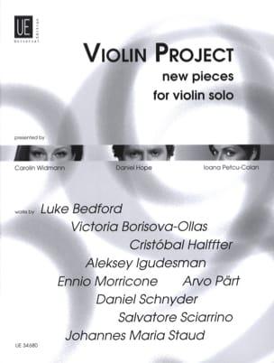 Violin Project New Pieces Partition Violon - laflutedepan
