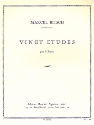 20 Etudes - pour basson Marcel Bitsch Partition Basson - laflutedepan