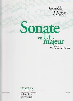 Sonate en ut majeur Reynaldo Hahn Partition Violon - laflutedepan