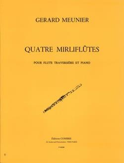 4 Mirliflûtes Gérard Meunier Partition laflutedepan