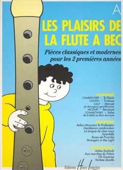 Les Plaisirs de la Flûte à Bec - Cahier A laflutedepan