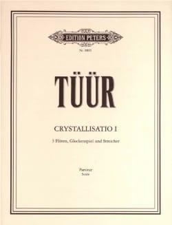 Crystallisatio 1 Erkki-Sven Tüür Partition Grand format - laflutedepan