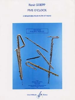 Five O' Clock - René Goepp - Partition - laflutedepan.com