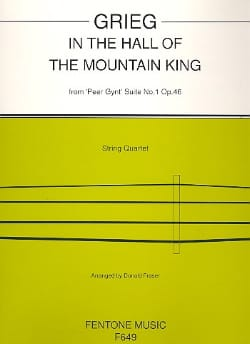 In the hall of the mountain King - String quartet GRIEG laflutedepan
