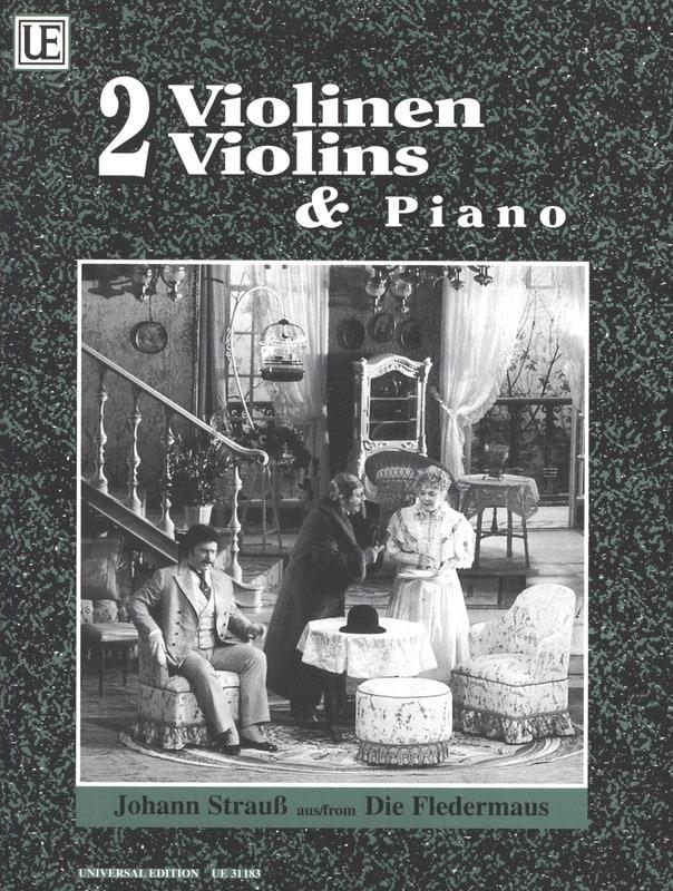Die Fledermaus - 2 Violinen Klavier - laflutedepan.com