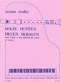12 Petites Pieces Modales Jacques Chailley Partition laflutedepan